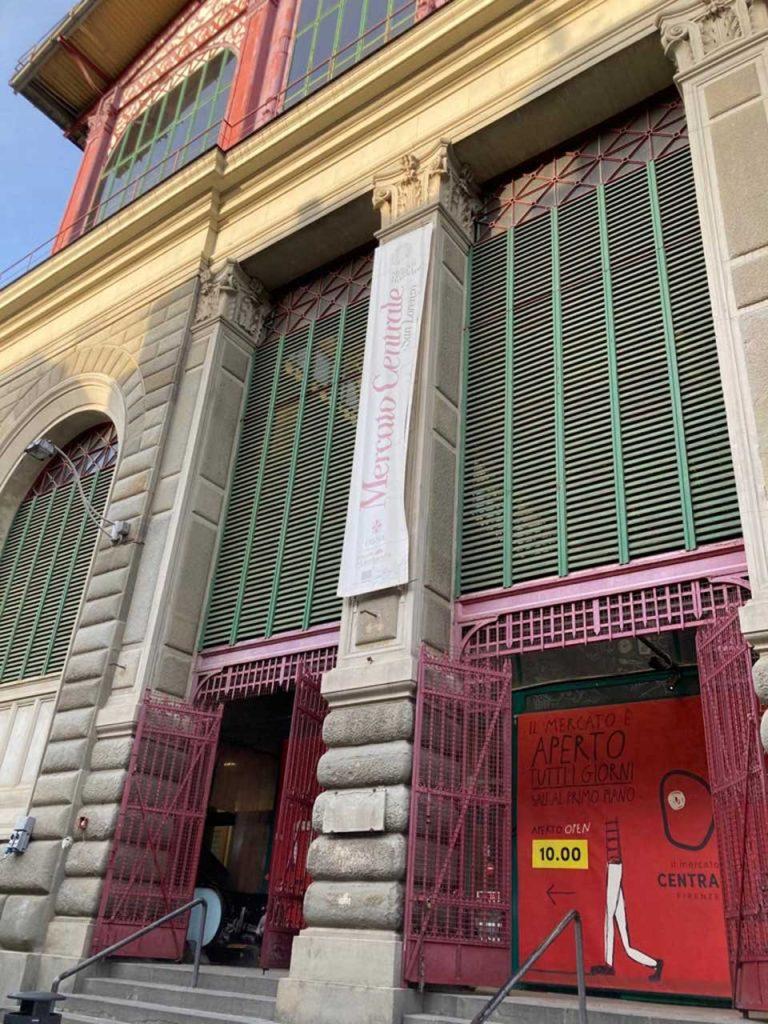 Mercati Centrale Gebäude in Florenz