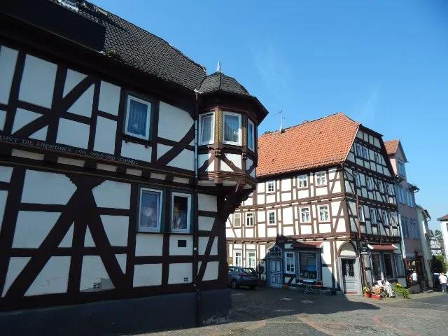 Fachwerkhäuser in Laubach