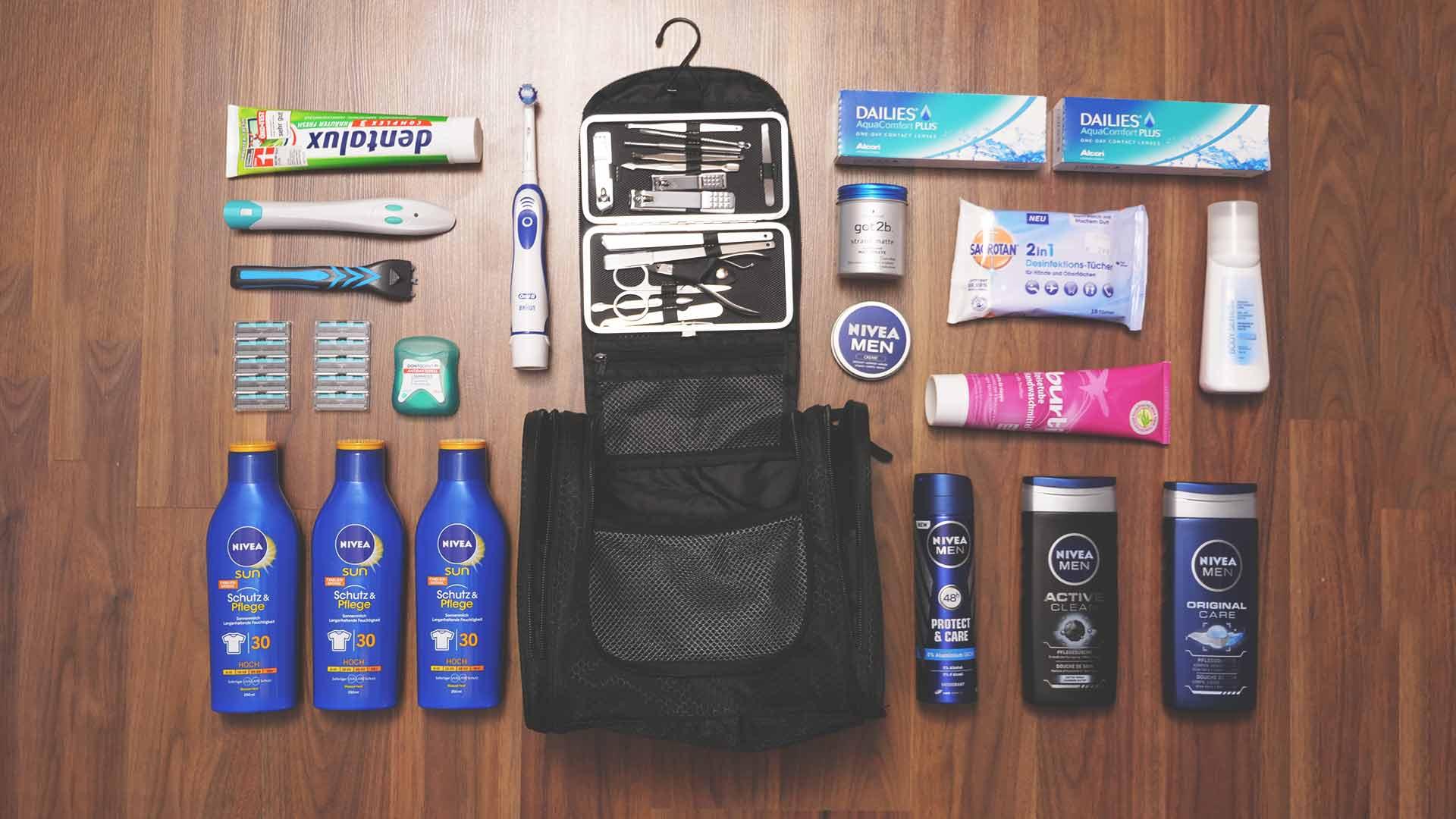 Backpacking Packliste Südostasien - Valentins Kulturbeutel, Kulturtasche