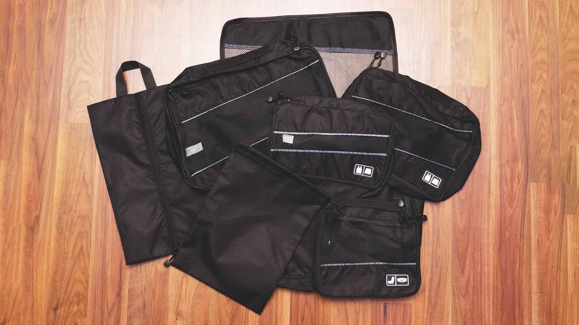 Backpacking Packliste Südostasien - Packtaschen Inhalt Übersicht
