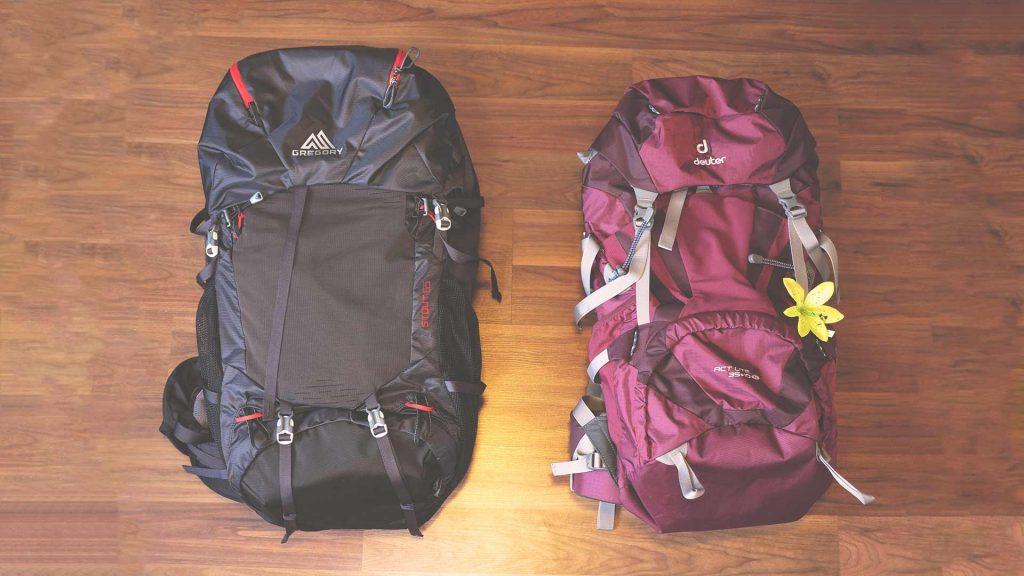 Backpacking Packliste Südostasien - Rucksäcke