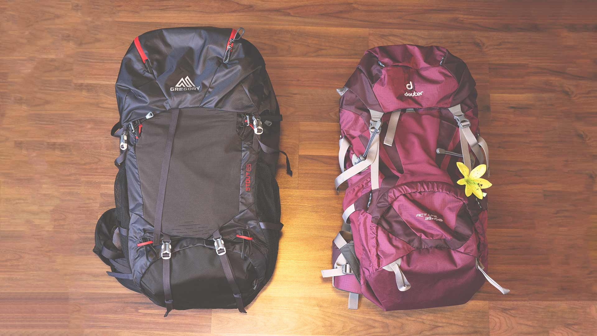 Backpacking Packliste Südostasien - Rucksäcke