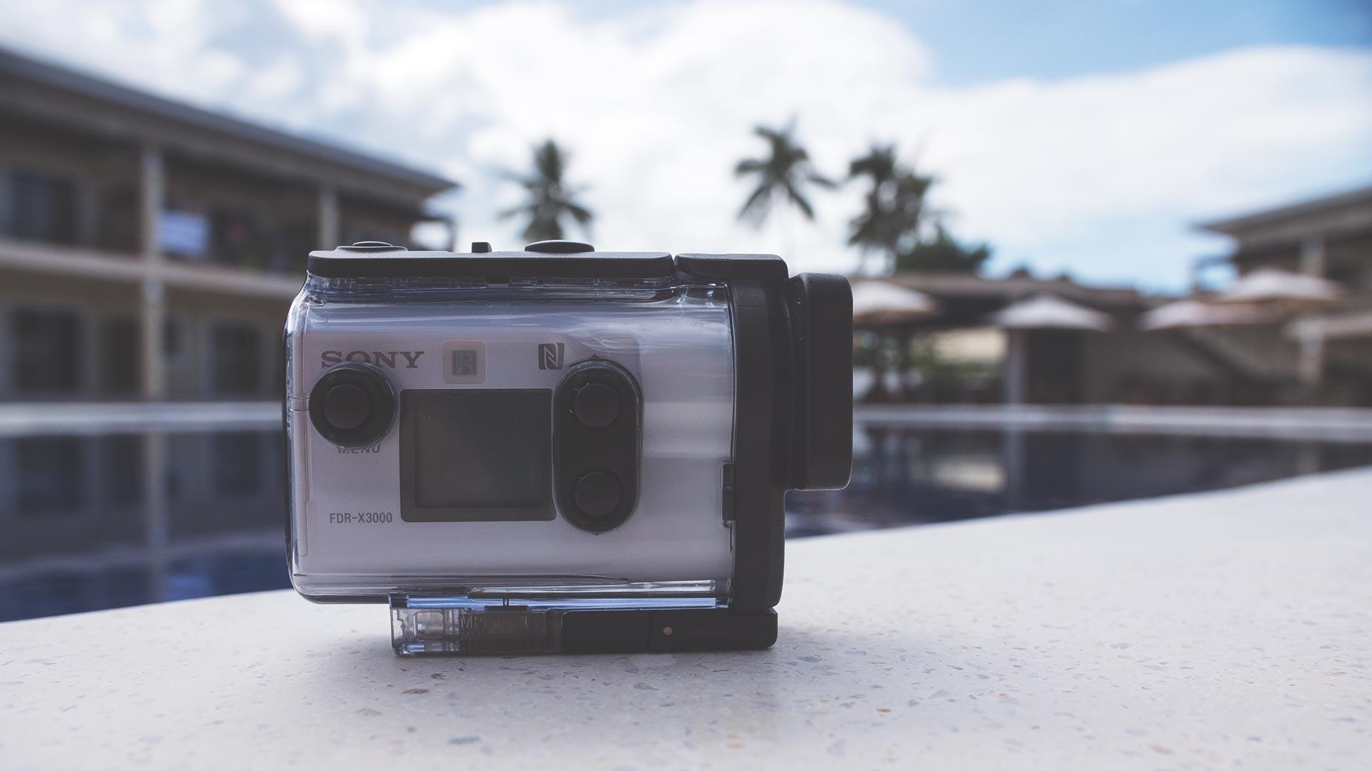 Sony Action Cam im Unterwassergehäuse