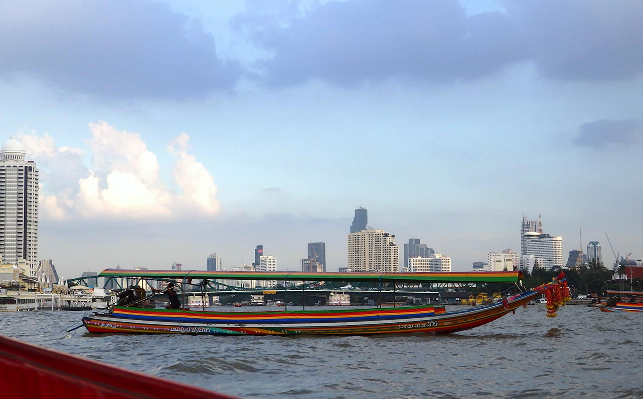 Bootsfahrt in Bangkok Thailand
