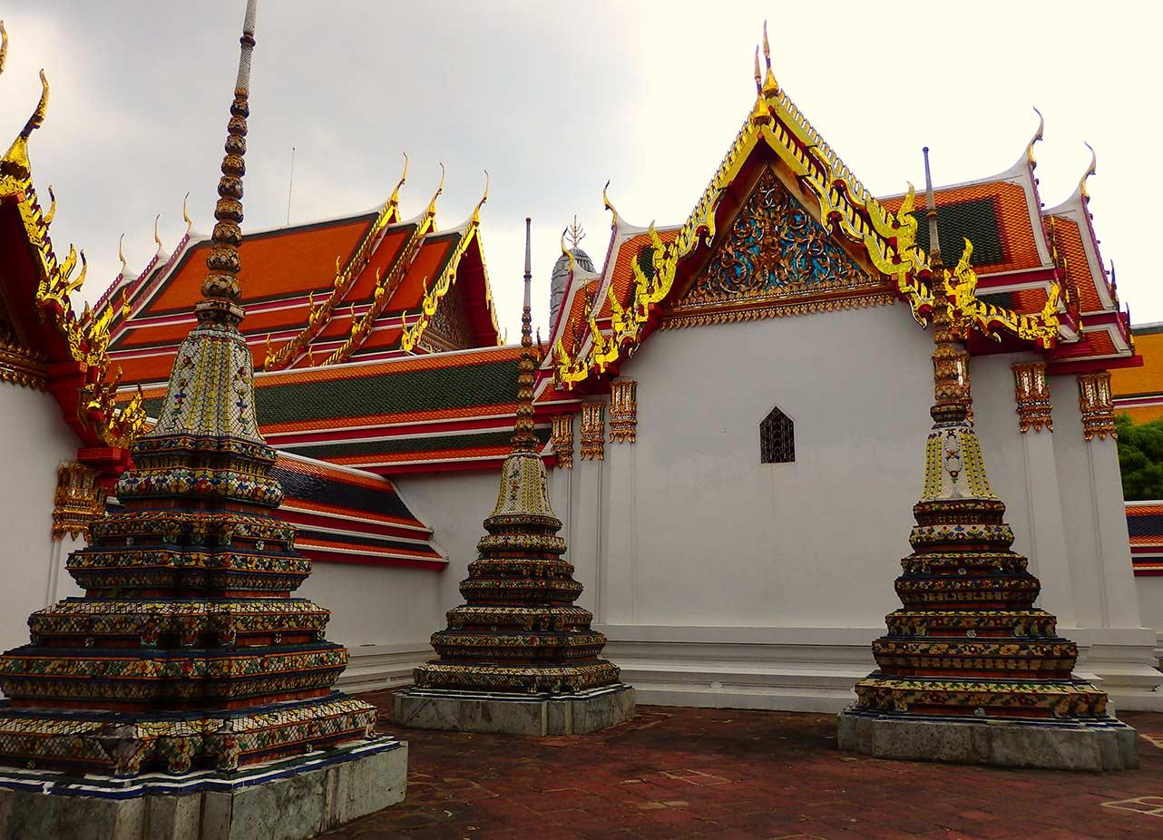 Tempelanlage in Bangkok