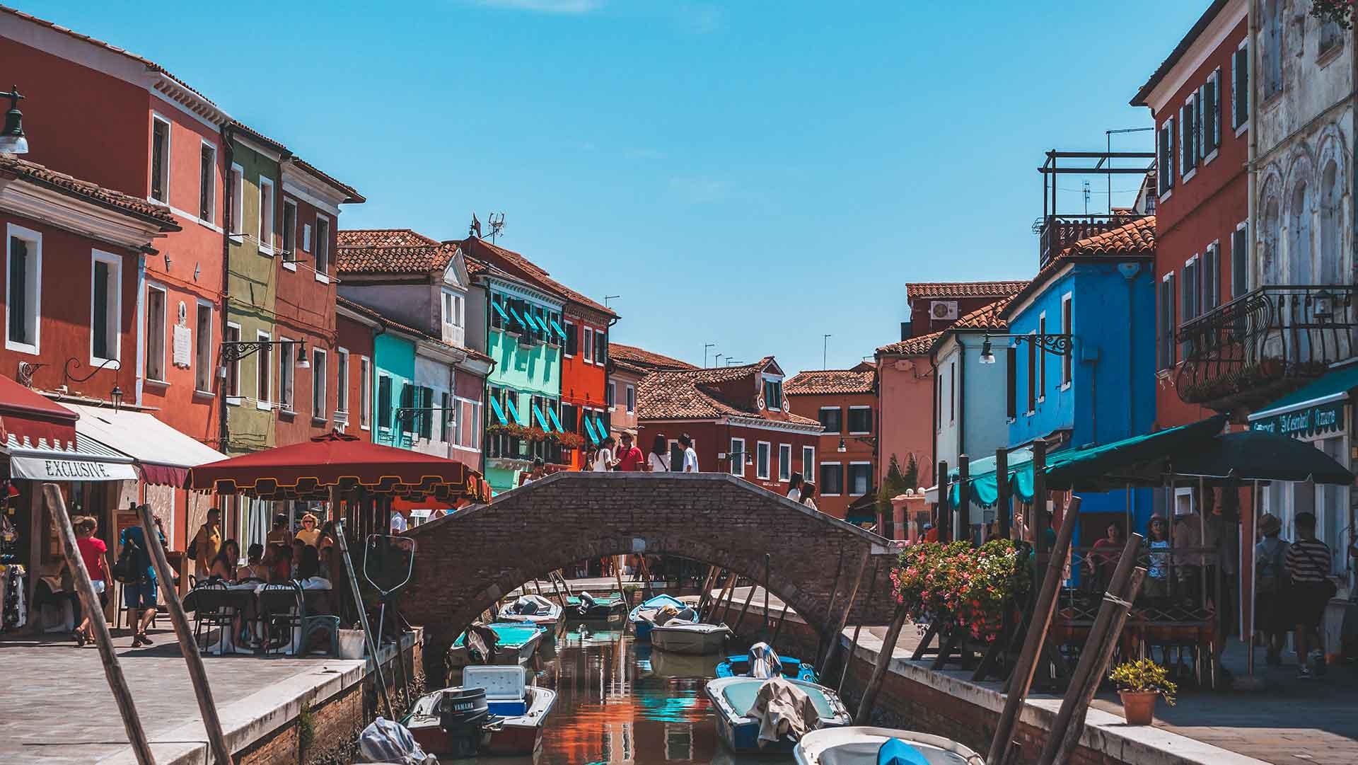 Burano - Venedig in klein und bunt!