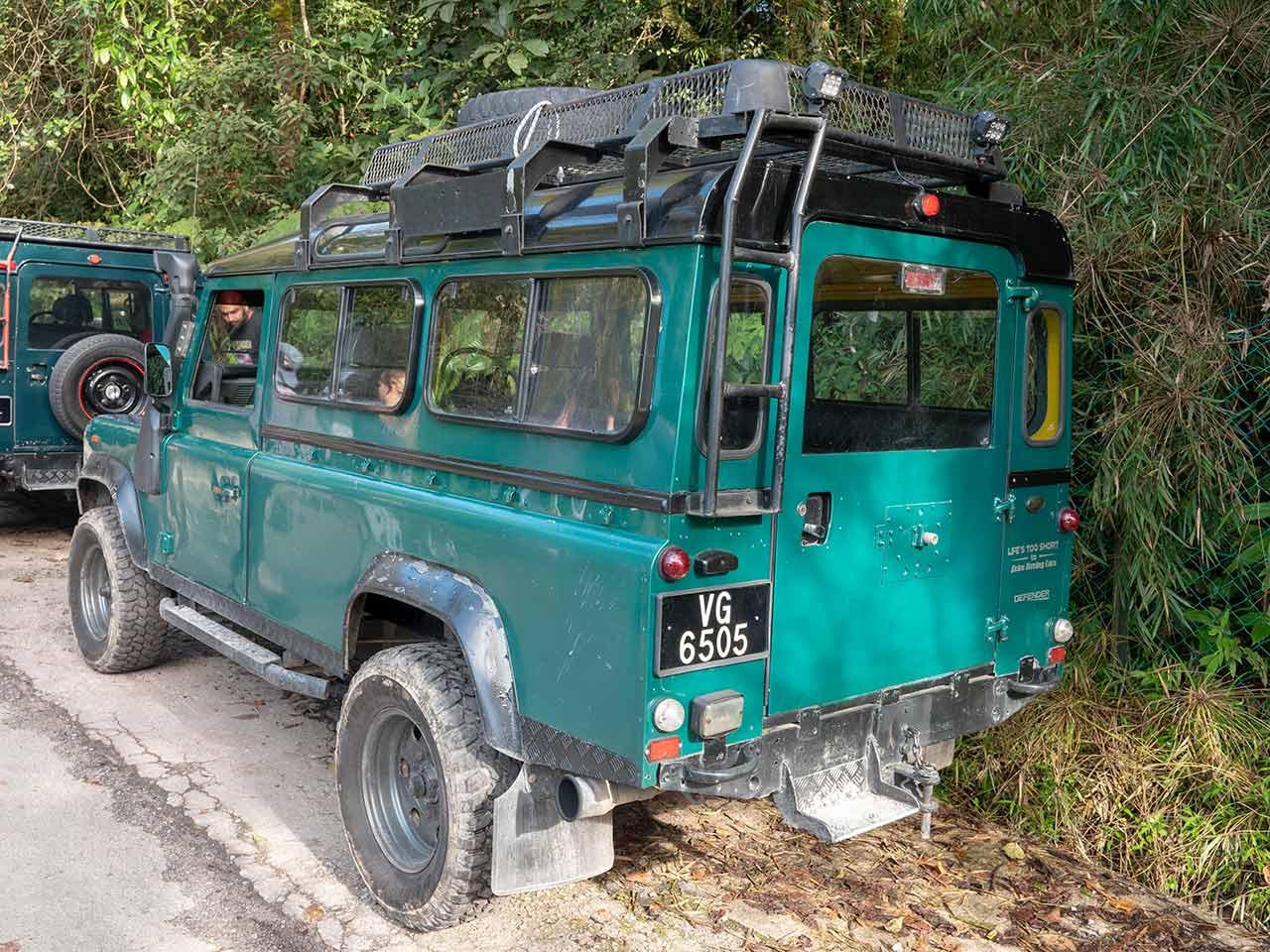 Cameron Highlands: Full Day Tour mit dem Jeep