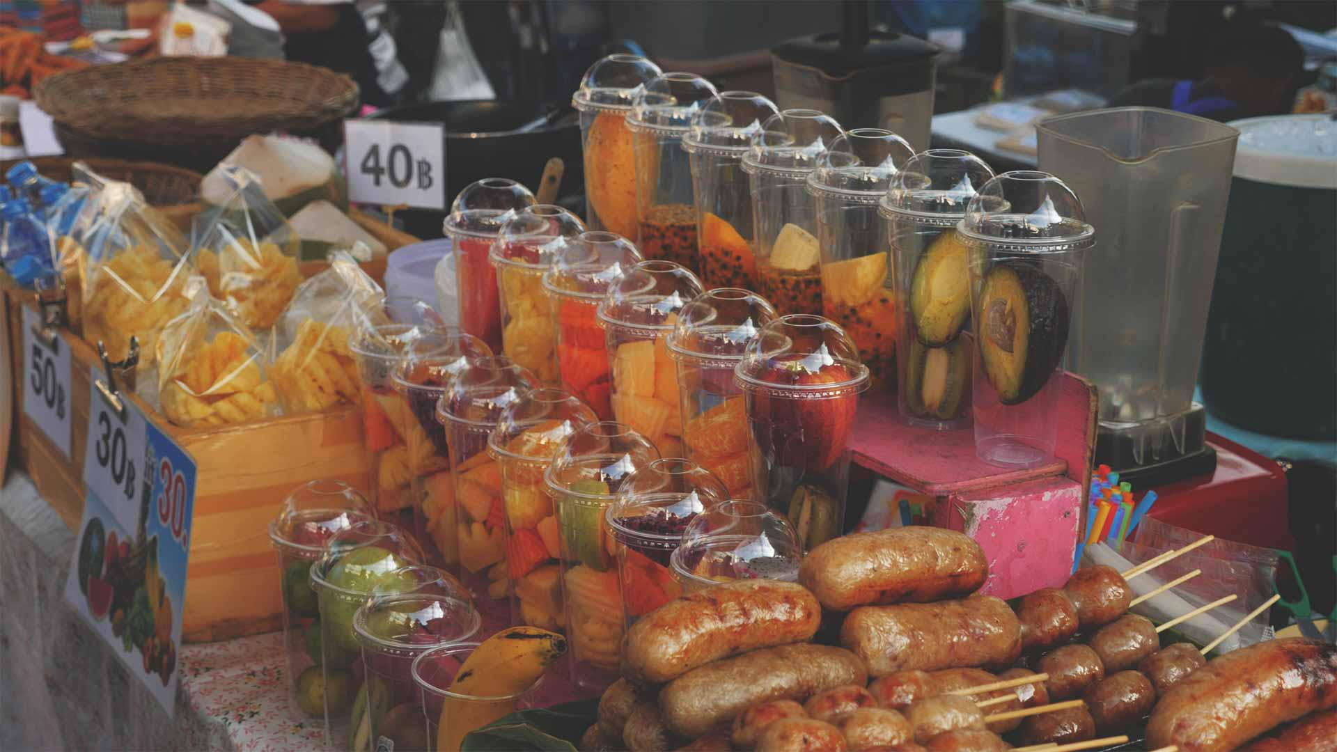 Chiang Mai Walking Street Smoothies