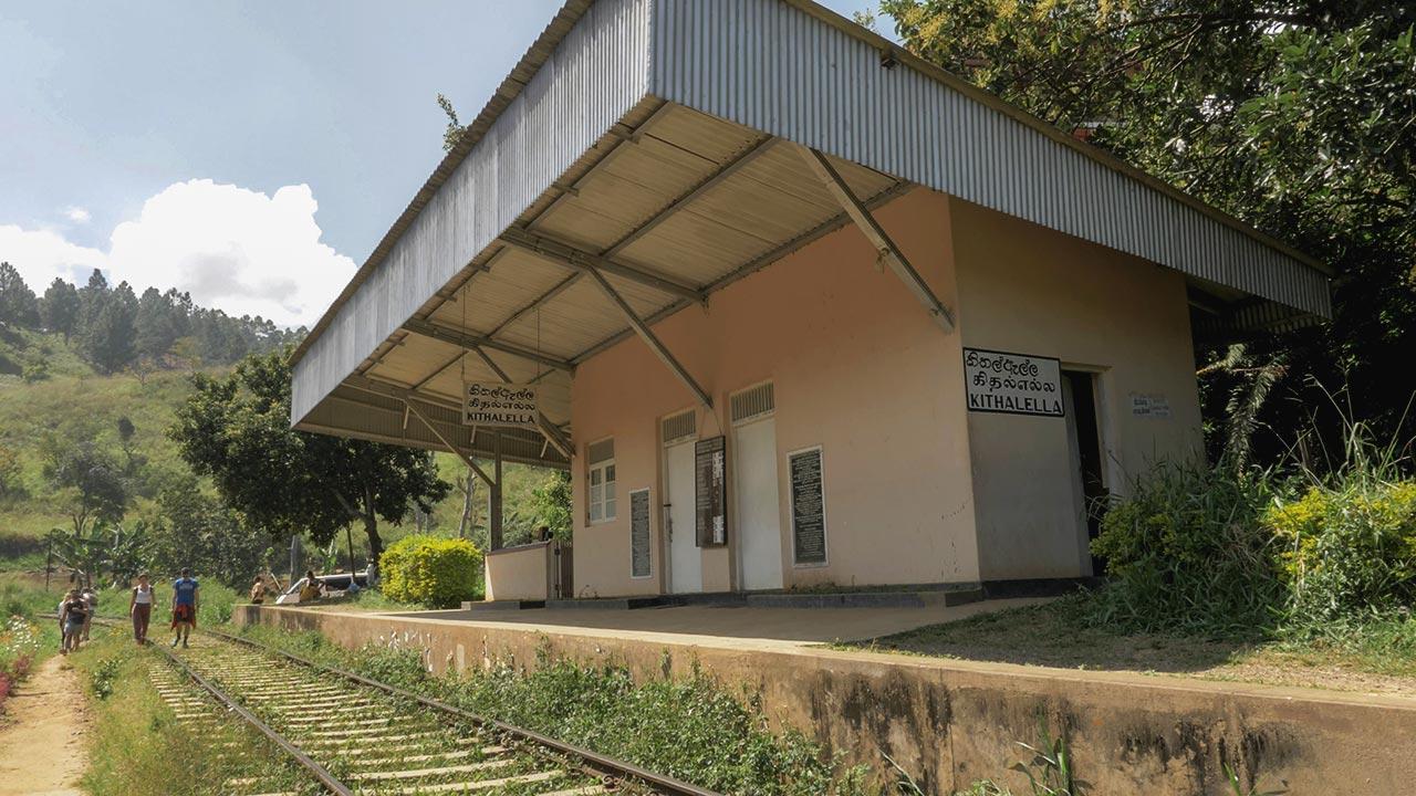 Kithalella Station auf dem Weg zum Ella Rock