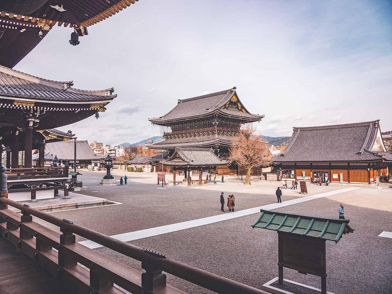 Hihashi Honganji Tempelanlage