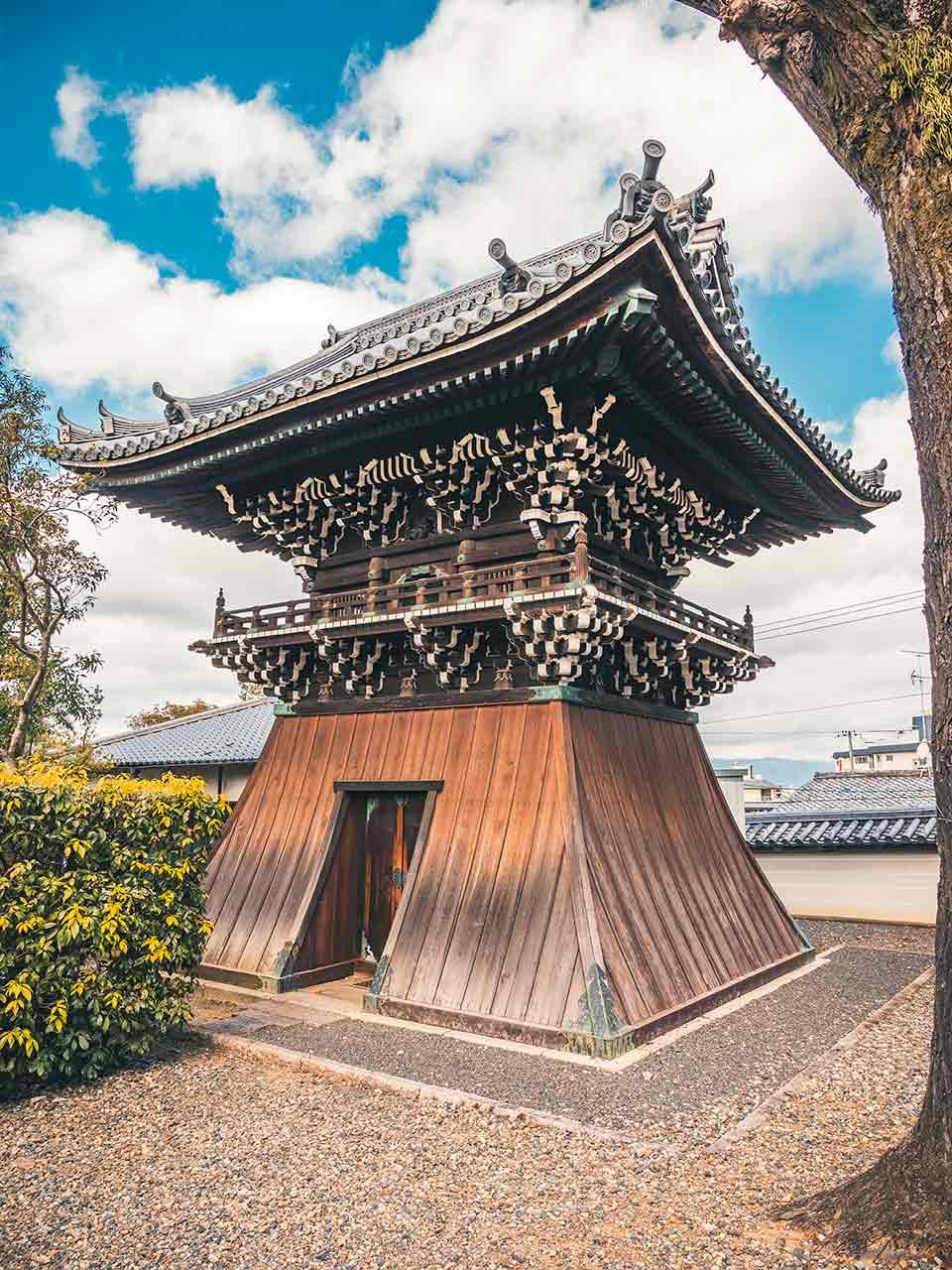 Kiyomizu Dera Tempel in Kyoto Japan