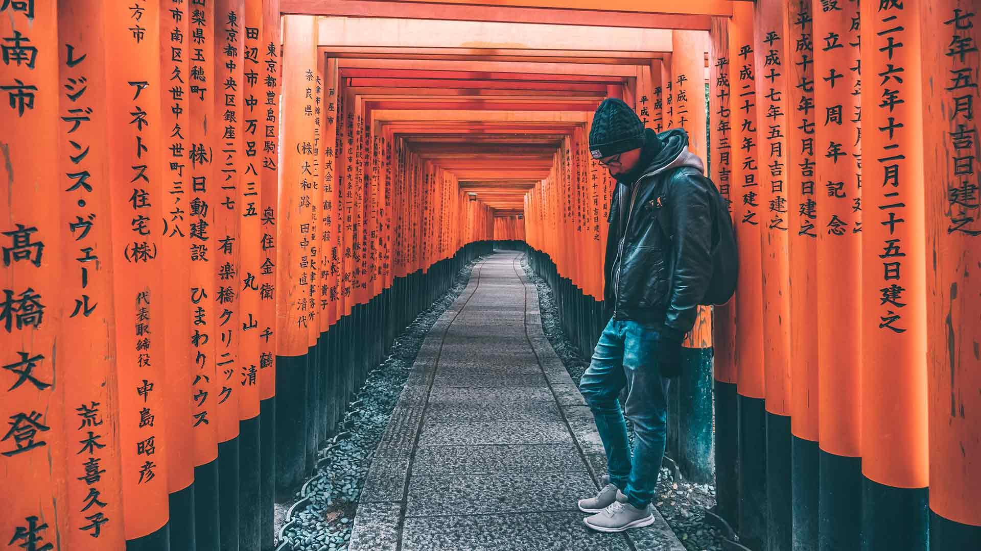 Kyoto - Tempel & Sehenswürdigkeiten in Japan