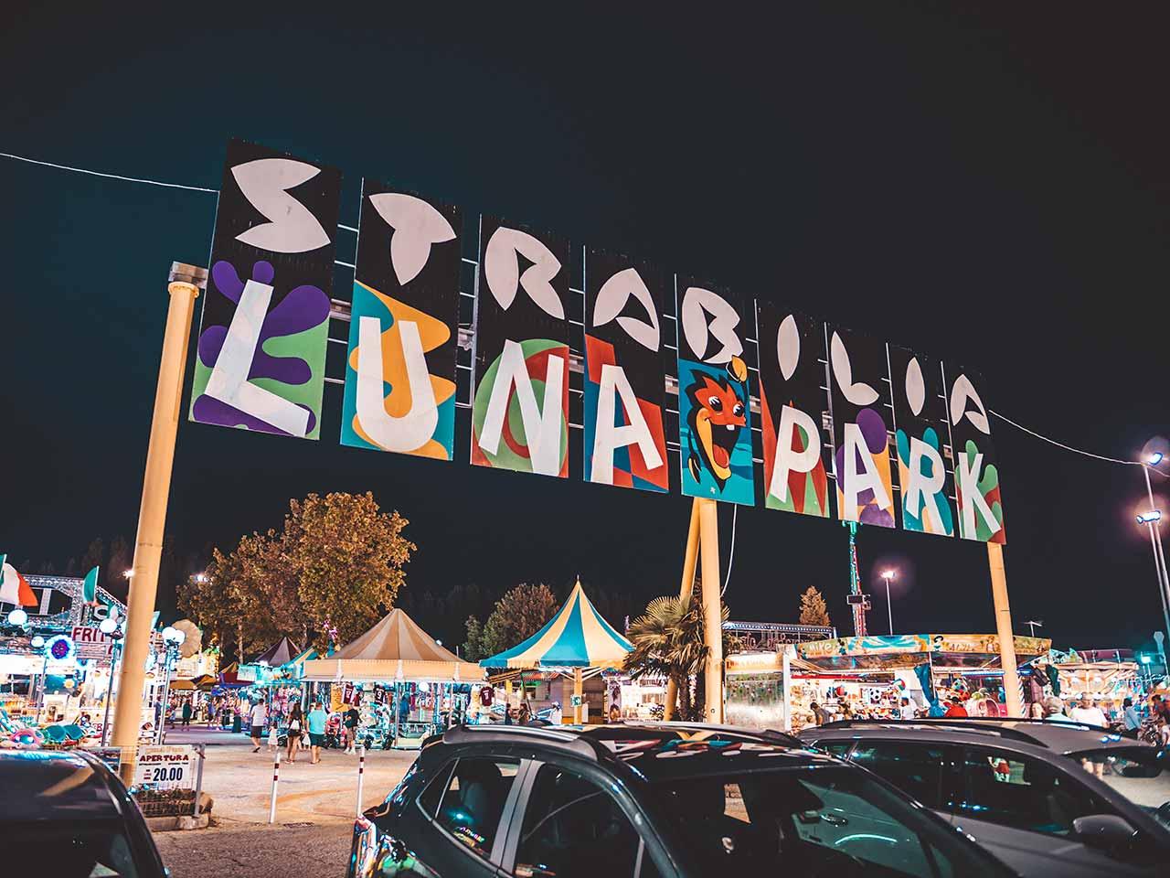 Strabilia Luna Park in Lignano Sabbiadoro