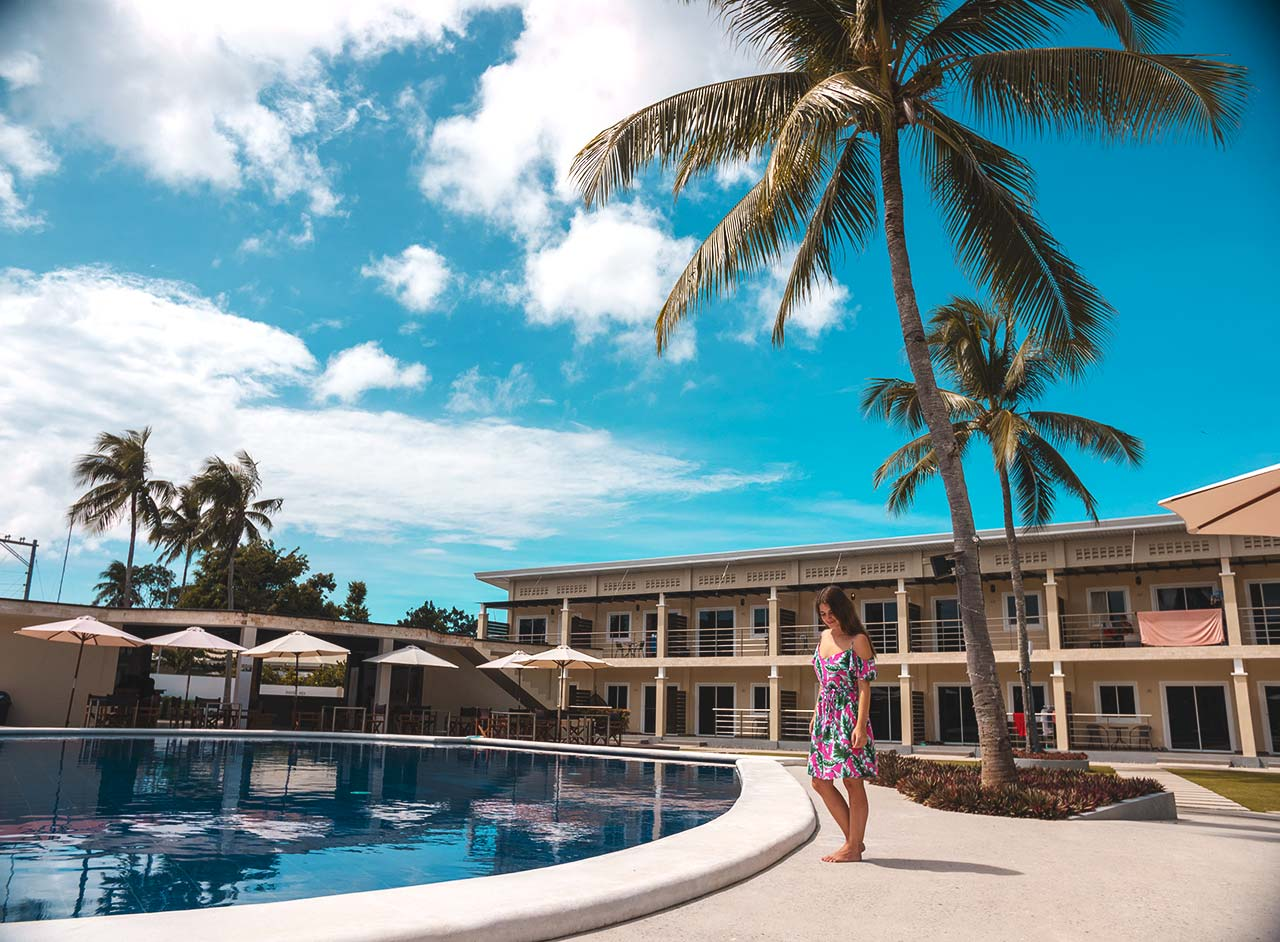 Jasmin am Pool des Malinawon Resorts in Panglao