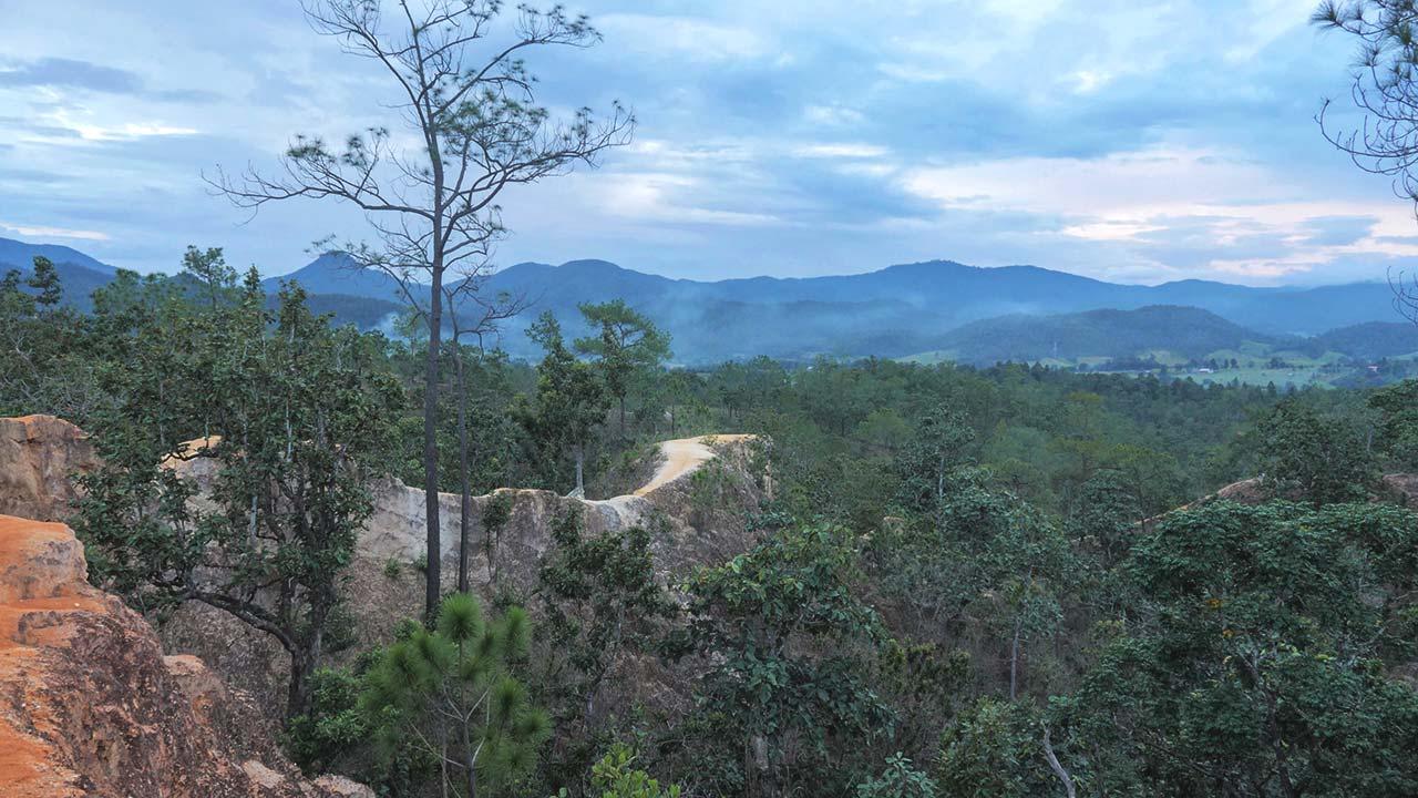 Aussicht vom Pai Canyon