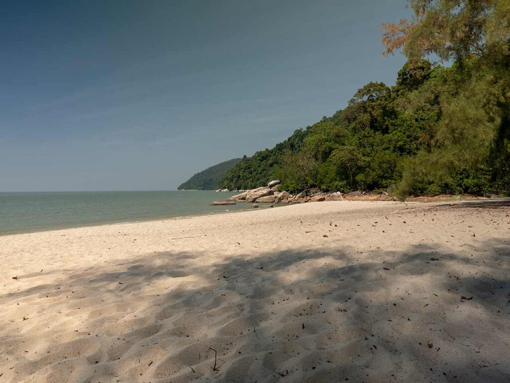 Turtle Beach im Penang Nationalpark
