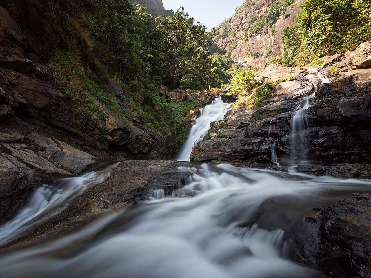 Ravana Falls - Wasserfall in Sri Lanka