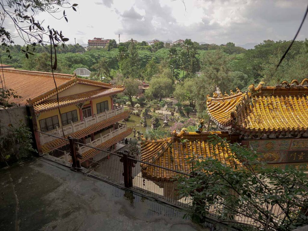 Aussicht vom Sam Poh Tong Tempel in Ipoh