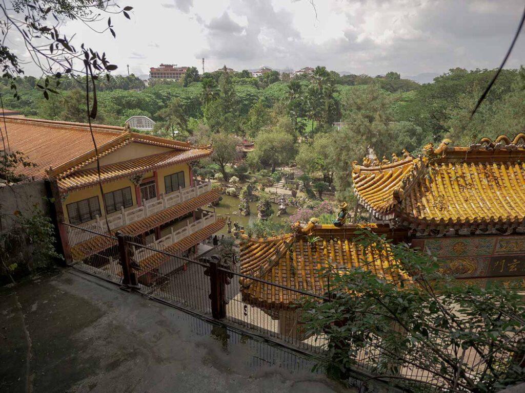Aussicht vom Sam Poh Tong Tempel in Ipoh
