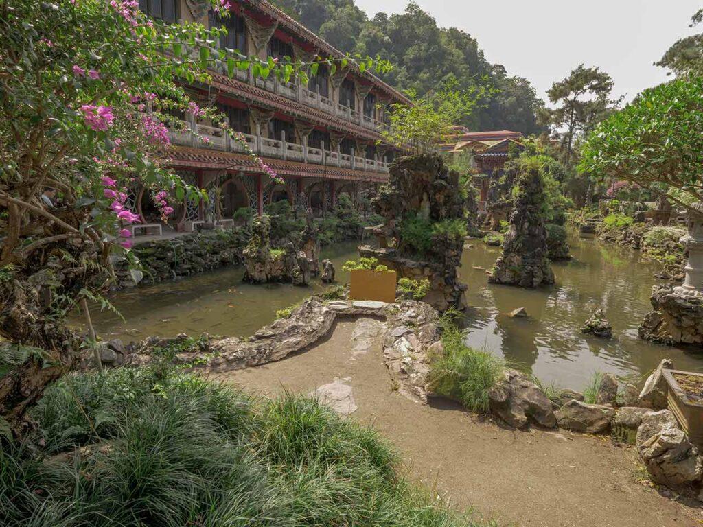 Sam Poh Tong Tempel in Ipoh: Tempelanlage