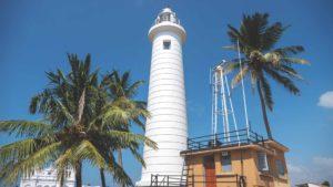 Galle in Sri Lanka: der berühmte Leuchtturm in Sri Lanka