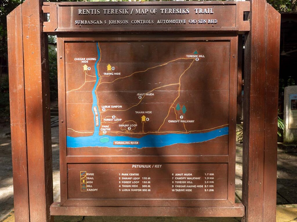 Taman Negara Nationalpark: Karte