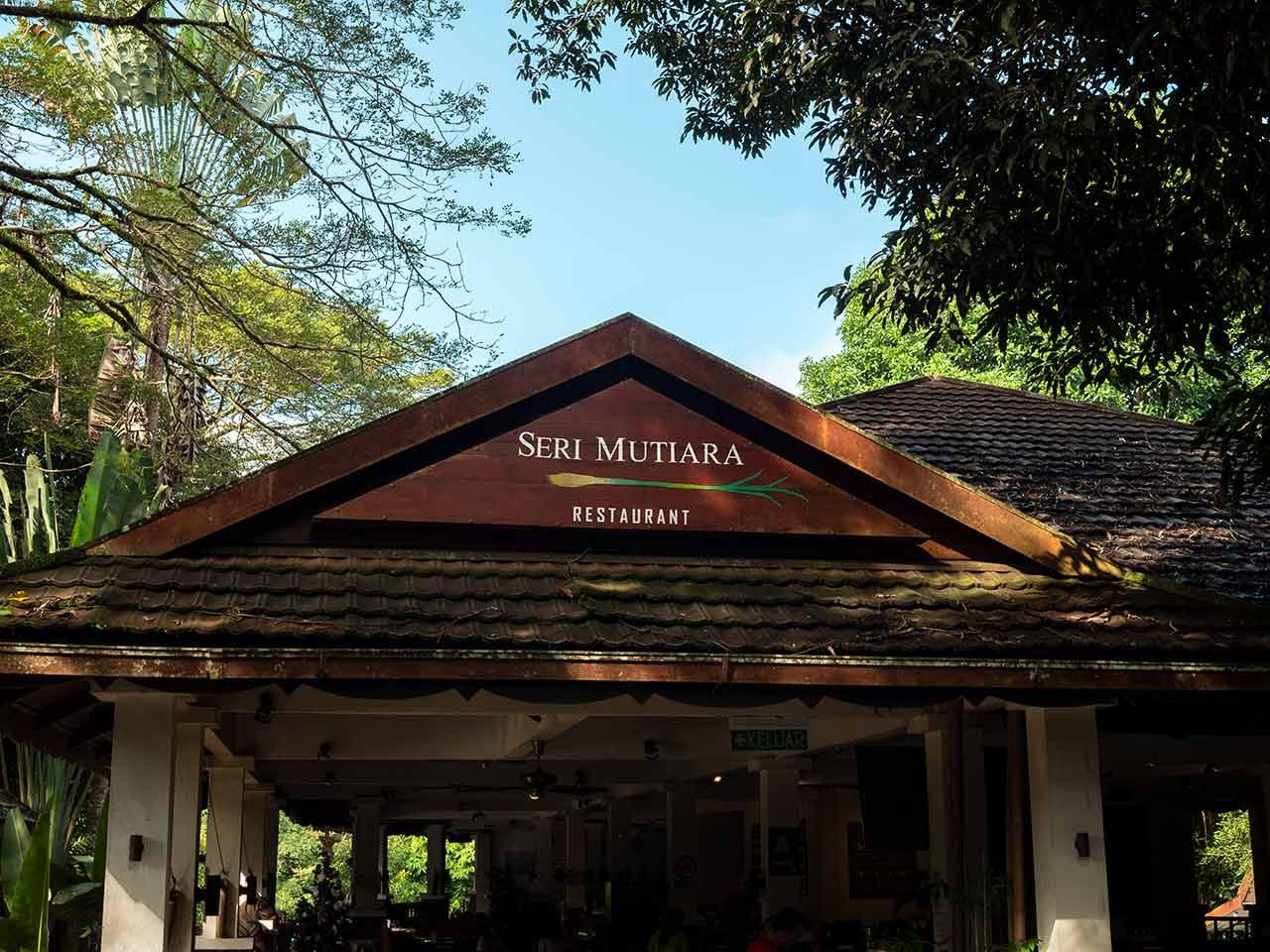 Das Seri Mutiara Restaurant im Taman Negara Nationalpark