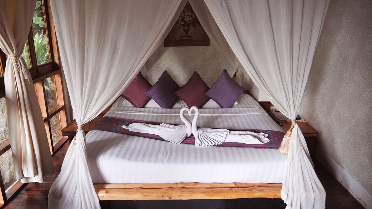 Doppelzimmer im Thipwimarn Resort in Koh Tao