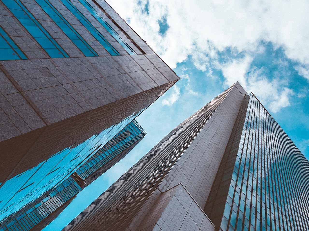 Architektur in Tokio Japan