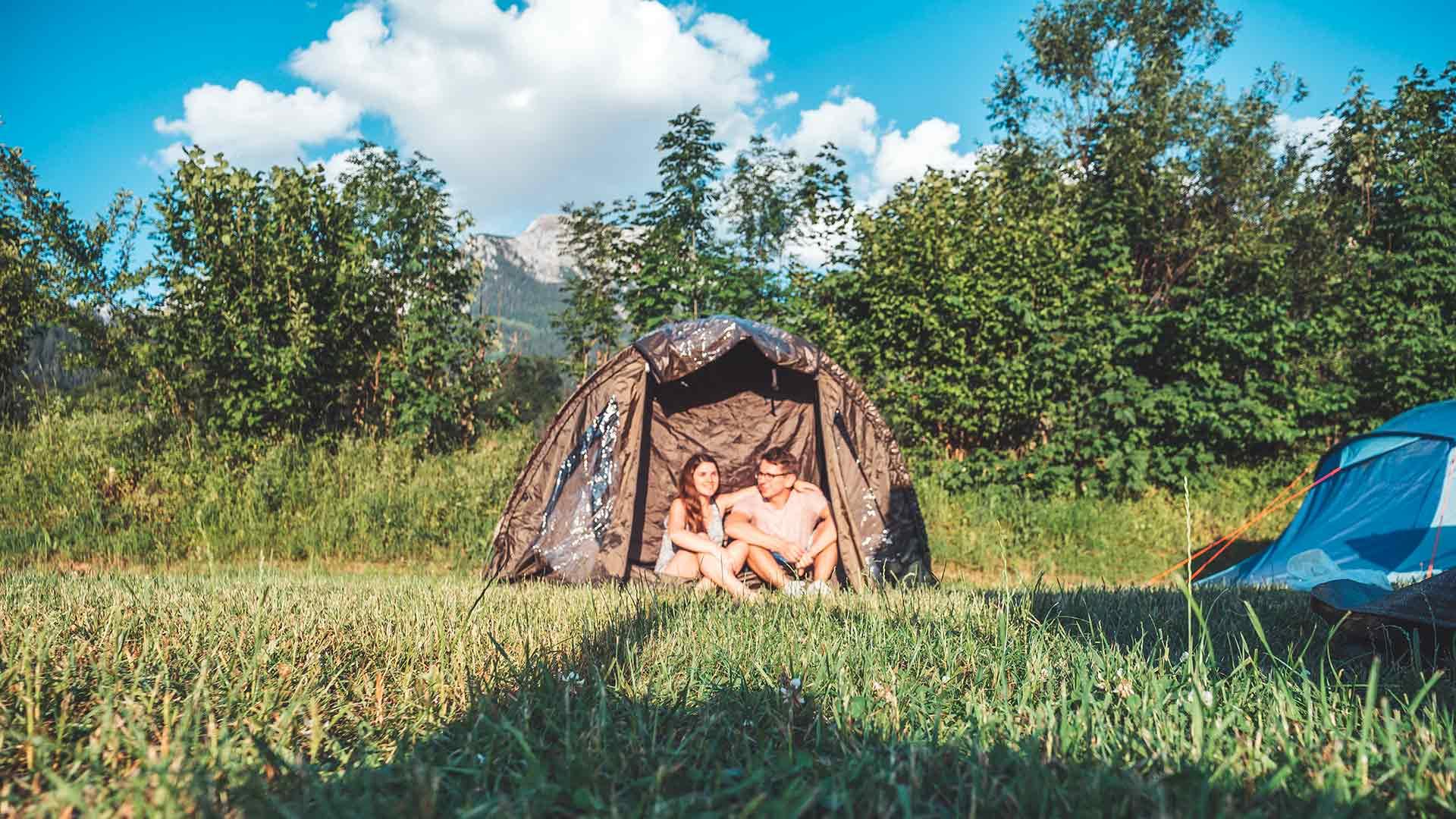 Zelten - Ausrüstung und Packliste